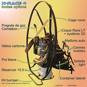 concept x race4 paramoteur