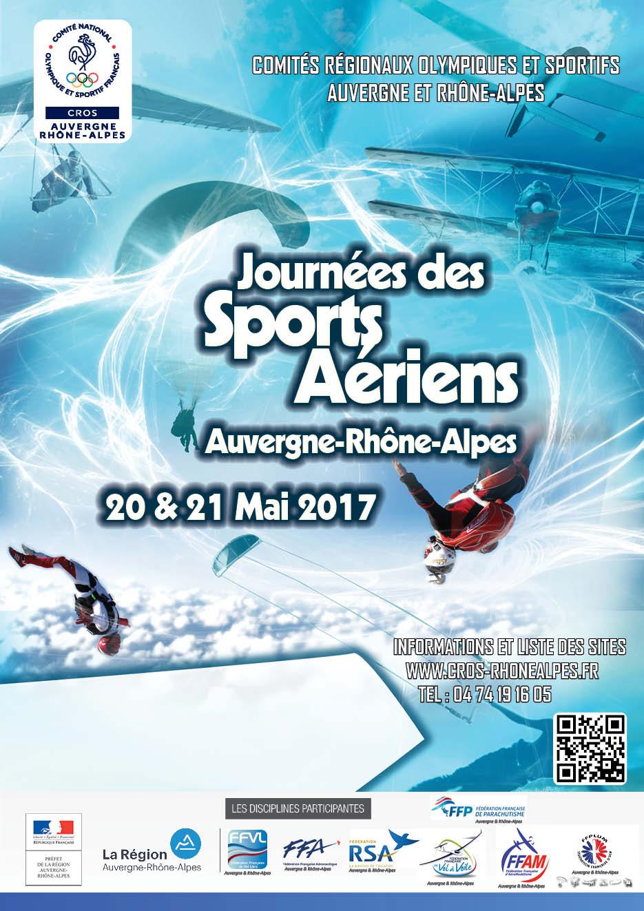 Journée des sports aériens 20 & 21 mai 2017
