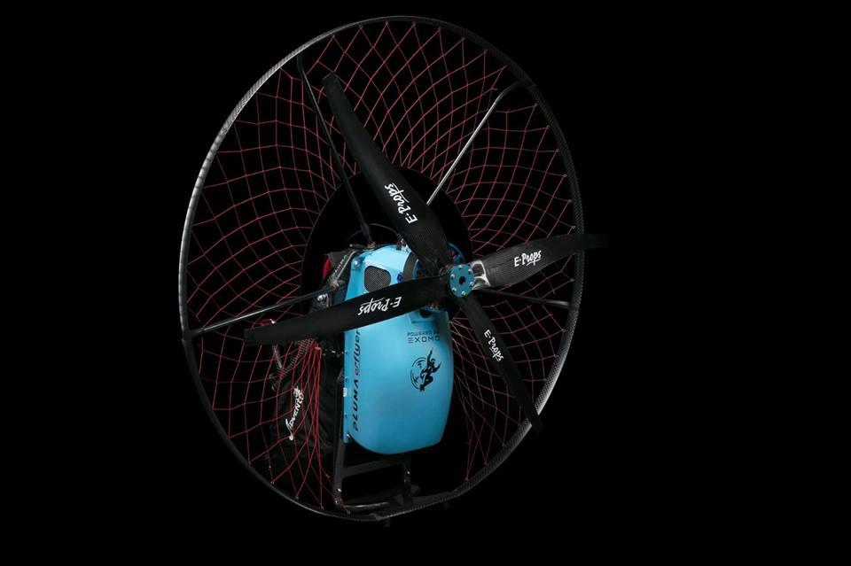 Présentation du nouveau e-flyer moteur de paramoteur électrique
